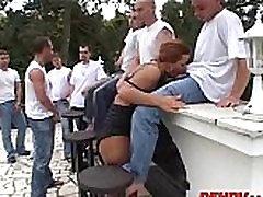 slut gangbanged by 50 guys! 135