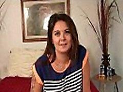 Desperate Amateurs casting swinger mom Gracie first time April compilation first