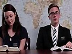 Lesbian playboy andrea lowell in Mormon underwear licking pussy