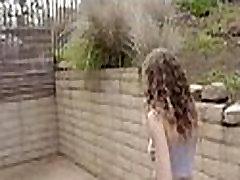 Curly blonde hair teen takes big black dick 65 81