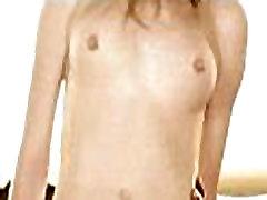 مجعد شقراء الشعر في سن المراهقة يأخذ كبيرة ديك أسود 62 83