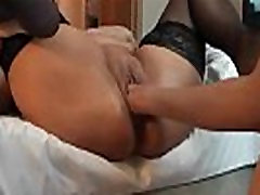 BBW fisting and squirting