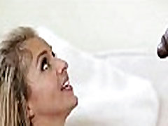 Tiny blonde fucks huge black cock 42 84