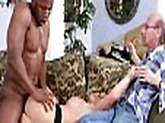 Mom makes son watch her get fucked by big black cock 424