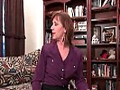 Mom&039s nipples and clit need attention after a hard days work