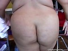 Very sexy asian BBW with lovely big tits enjoys a sticky facial cumshot