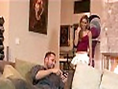 Husband and wife fuck the babysitter 830