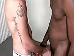 Huge black cock barebacks tight white hole 05
