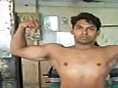 Indian Boy underwear stripped by naughty girls.