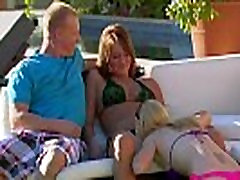 Babes get naughty at outdoors diamond jackson new teacher party in the swingers mansion