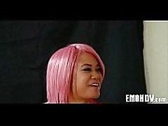Emo slut with tattoos 1125