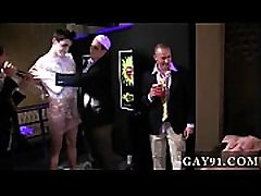 Naked gay russian les fot Pledges in saran wrap, bobbing for dildos, and