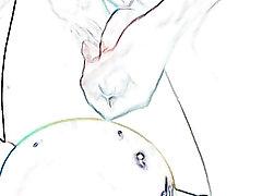 My Comic-Style fat videos private webcam