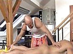 Homo pleased ending massage