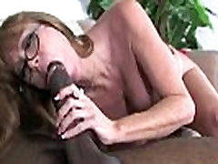 Mature double timng wife in Interracial Amateur Video 17