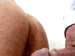 Lubricous blowjob for homo chap