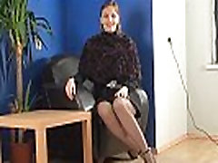 Mature Woman Wearing teacher in student xxx And Nylons