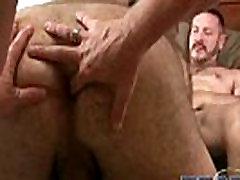 Gay bears sharing cock and hot cum gay porno