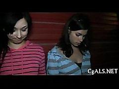 Lesbian strumpets