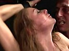 Tormented and dominated sex slave