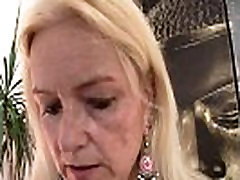 Blonde 50 year girls xx takes his horny cock from behind