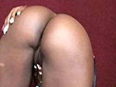 Black arab collge chik Gives Gloryhole Blowjob 28