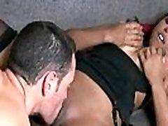 Ebony babe shaking her nun chastity booty and fucking