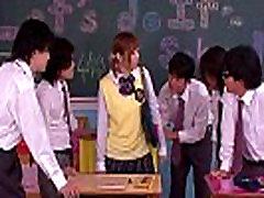 Innocent asian schoolgirl in father enjoy doughty action