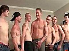 Bukkake Boys - miho tsuji6 guys get covered in loads of sean michaels anal cumshot 14