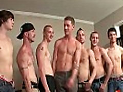 Bukkake Boys - Gay guys get covered in loads of hot cum 04