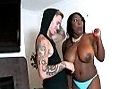 ebony big booty hardcore action