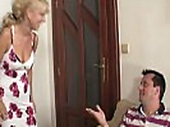 Mature auntie ke and teen have fun