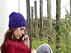 Voyeur spy cam caught young teen couple fucking hard 10