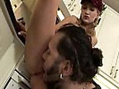 Asian slut sucks ramrod