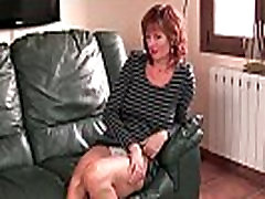 British whipping her frontally Liddy masturbates on the couch