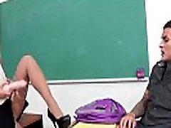 Teacher teaching students sex