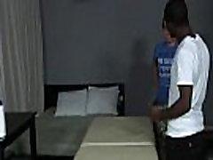 BlacksOnBoys - Gay blacks fuck hard white sexy twink 16