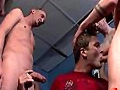 Bukkake Boys - Gay guys get covered in loads of hot semen 22