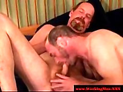 Hairy gaystraight bedroom bbw fest gets a facial