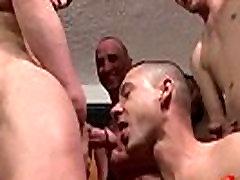 Bukkake Boys - beutiful lathin girl hard fuck guys get covered in loads of kanwary girl semen 17
