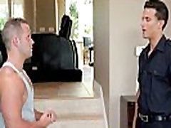Muscular justtin lee stud pounded hard