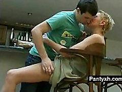 Marvelous Pantyhose Fetish Slut Wild Naked
