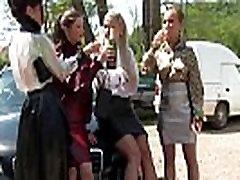Piss fetish group sluts fuck mechanic