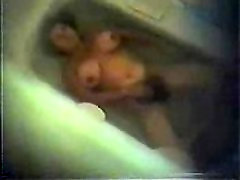 My mom masturbating in bath tube 2. Hidden cam