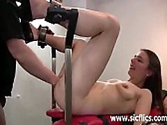 Skinny German www xxx ara fist fucked by two fat old perverts