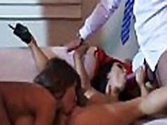 Asa Akira Madison Ivy amazing threesome fuck