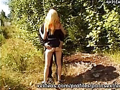 teenagers having japanese big tits hard fuck in the woods