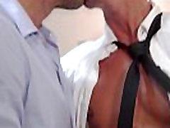 Gay uniform hunks shoot their loads