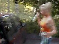 anal teen blonde fucked work holic in woods