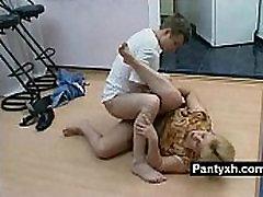 Erotic Pantyhose Fetish Slut Fucked Hard
